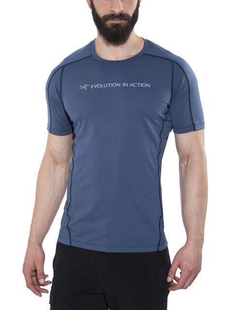 Arc'teryx Phasic Evolution t-shirt Heren blauw
